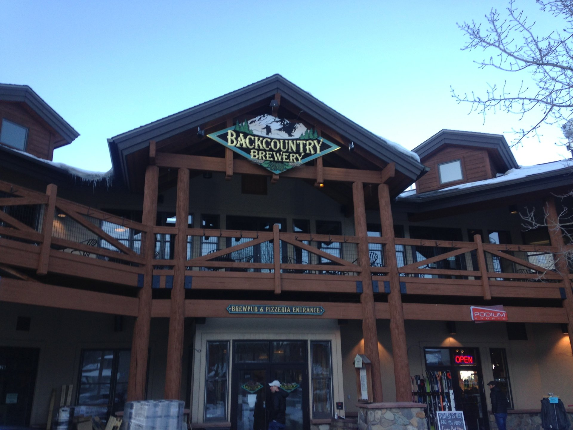 backcountry brewery, frisco, colorado