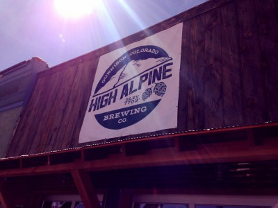 high alpine brewing company, gunnison, colorado