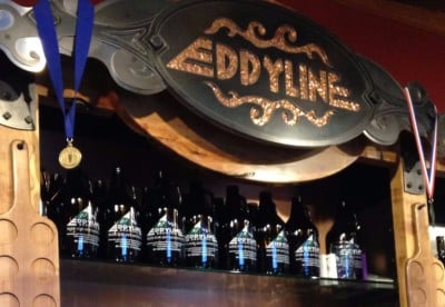 Eddyline brewery, buena vista, colorado