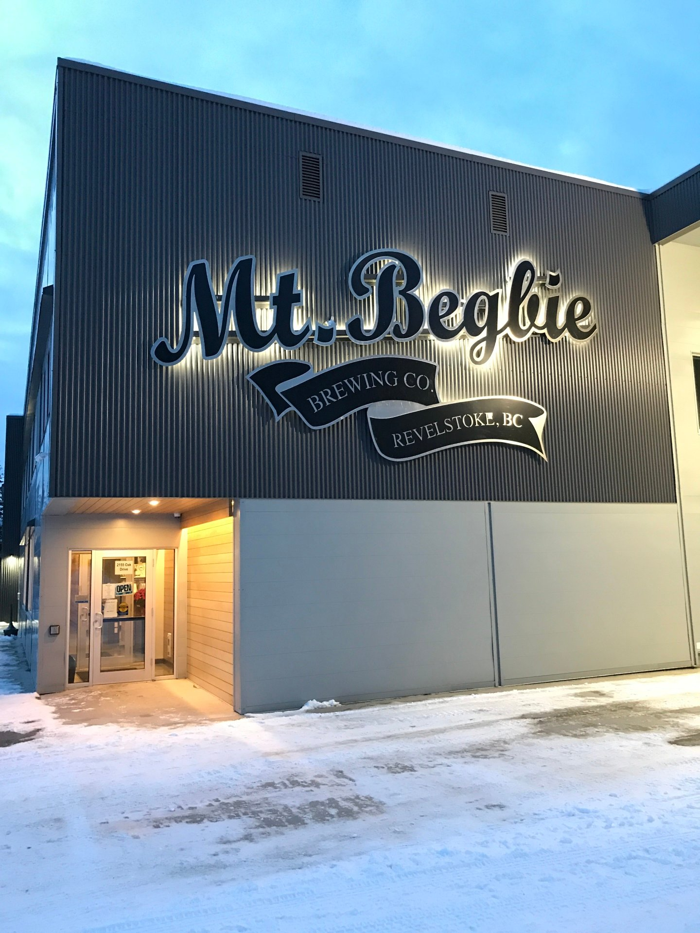 Mt. Begbie Brewing Co.
